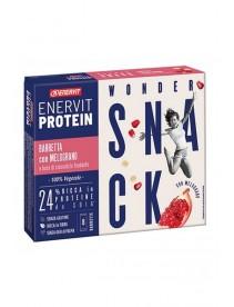 Enervit  Protein Snack Melograno Riso  Soffiato Vegetale  8 Barrette 27 G