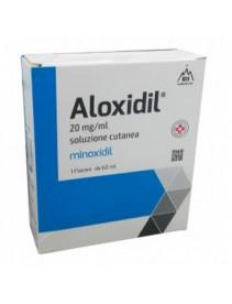 Aloxidil Soluzione 3 flaconi 60ml 20mg/ml