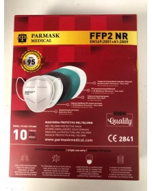 Mascherina Protettiva FFP2 10 Pezzi Parmask Medical - DPI Certificata CE