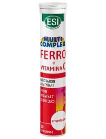 Esi Multicomplex Ferro Vitamina C 20 Compresse