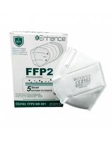Mascherina FFP2 10 Pezzi Enhance - DPI Certificata CE