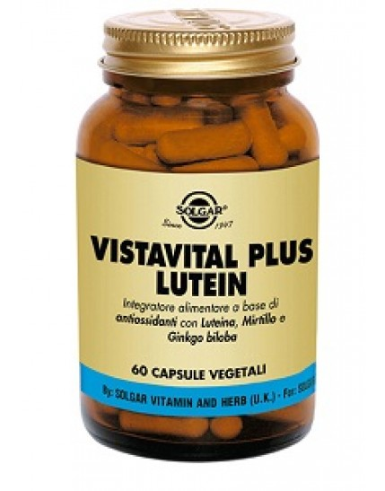 Solgar Vistavital Plus Lutein 60 capsule