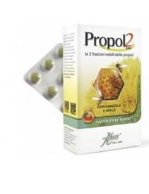 Aboca Propol2 Emf - Fragola e miele 45 tavolette per bambini