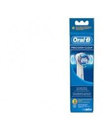 Oral B - Precision Clean Ricambio Eb20-3
