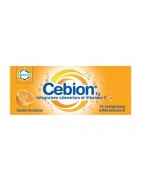 Cebion 1g Vitamina C 10 Compresse Effervescenti Gusto Arancia