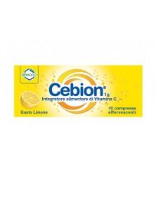 Cebion 1g Vitamina C 10 Compresse Effervescenti Gusto Limone