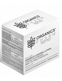 Organics Pharm - Lozione concentrata curativa antiforfora a base di olio di Neem e Tea Tree