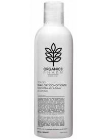 Organics Pharm - Crema nutriente per capelli molto secchie sfibrati agli estratti di seta