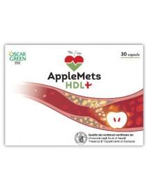 Applemets Hdl+ 30 capsule - Integratore a base di mela annurca