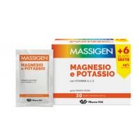 Massigen Magnesio e Potassio 24+6 bustine omaggio
