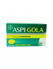 Bayer Aspi Gola* 24 pastiglie Limone Miele