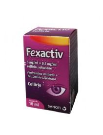 Fexactiv Collirio Monodose 10 x 0,5 ml