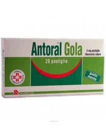 Antoral Gola 20 Pastiglie 5 mg Menta