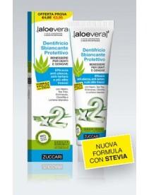 Aloevera2 Dentifricio Sbiancante con Stevia