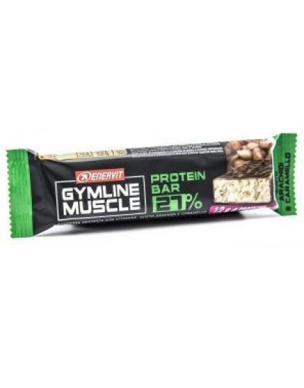 Enervit Gymline Muscle Protein - Barrette 27% Arachidi e Caramello 45g