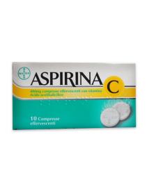 Aspirina C 10 Compresse Effervescenti 400+240 mg