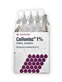 Celluvisc Collirio 30 flaconcini 0,4ml10mg/m