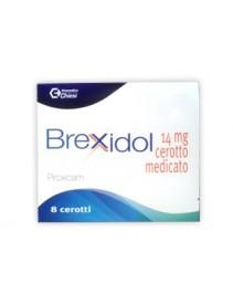 Brexidol - 8 Cerotti Medicati 14 mg