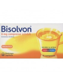 Bisolvon*16cpr Solub 8mg