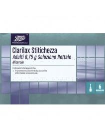 Clarilax Stitichezza Adulti 6 microclismi