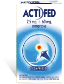 Actifed 12 compresse 2,5mg+60mg