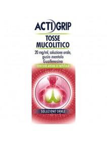 Actigrip Tosse Mucolitico 150ml - Guaifenesina