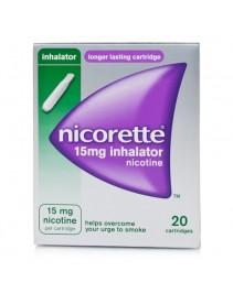 Nicorette Inalatore 20 flaconcini 15mg