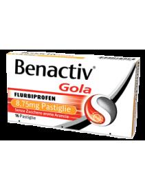 Benactiv Gola - 16 pastiglie gusto arancio