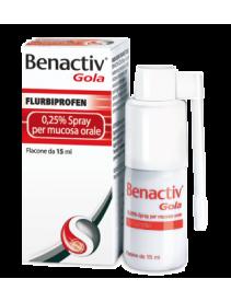 Benactiv Gola Spray 15ml 0,25%