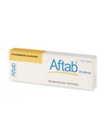 Aftab*10cpr Adesive Bucc.0,025