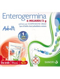 Enterogermina 10 Bustine Orosolubili 6 Miliardi 2g