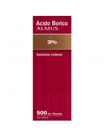 Acido Borico Almus*3% 500ml