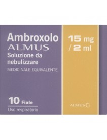 Ambroxolo Alm*neb 10f 15mg 2ml
