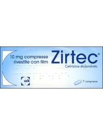 Zirtec 7 Compresse  Rivestite 10mg