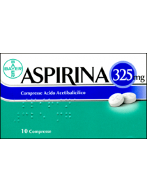 Aspirina 10 - Compresse 325mg