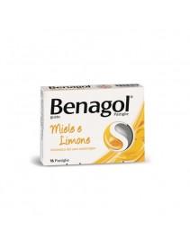 Benagol 16 pastiglie Miele Limone