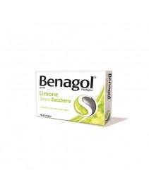 Benagol 16 pastiglie Limone Senza Zucchero
