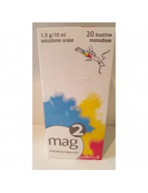 Mag 2 Soluzione orale 20 bustine 1,5g/10ml