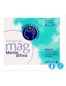 Mag Mente Attiva 20 bustine - Integratore a base di magnesio