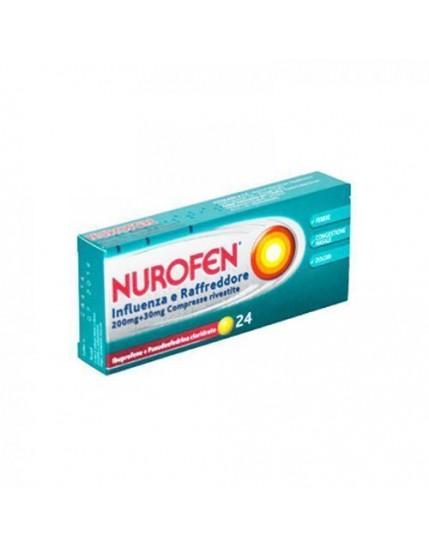 Nurofen Influenza febbre e Raffreddore 24 Compresse
