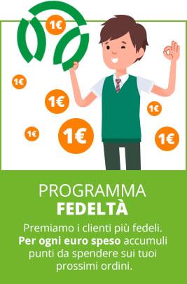 Programma fedeltà - Premiamo i clienti più fedeli!