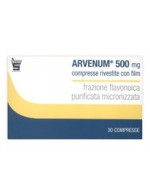 Arvenum 500 30 Compresse Rivestite 500mg