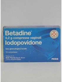 Betadine*10cpr Vag 200mg