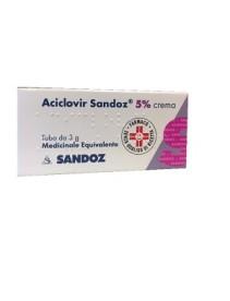 Aciclovir Sandoz Crema 3g 5%