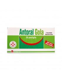 Antoral Gola 20 Pastiglie Senza Zucchero 5mg