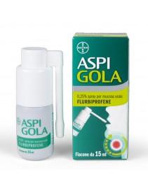 Aspi Gola Spray 15ml 0,25%