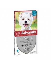 ADVANTIX Spot-On 1x1ml 4-10Kg