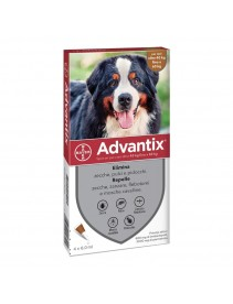 Advantix Spot-On 4 pipette 6ml 40-60Kg