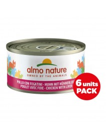 ALMO NATURE CATS Pol&Fegato70g