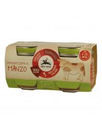 ALCE OMO Manzo Bio 2x80g